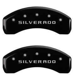 2011 Silverado 2500HD Caliper Covers (Black)