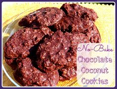 #Paleo Chocolate Coconut Cookies