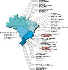Brasil Bão: Principais aeroportos do Brasil