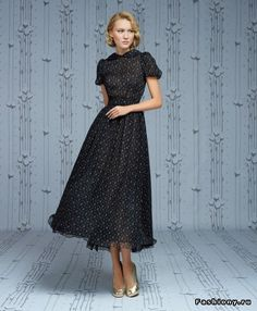 f Piercing piercing nose Pretty Black Dresses, Lil Black Dress, Modern Fashion, Vintage Fashion, Moda Casual, Pinterest Fashion, Russian Fashion, Mode Vintage, Modest Outfits