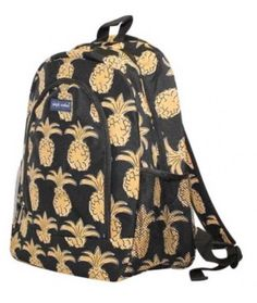 495752c2a01 New Simply Southern Tees T Shirt Co. Pineapples Bookbag Backpack Black Gold