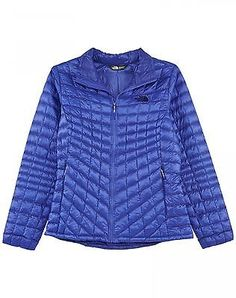 North Face Thermoball Full Zip Womens CTL4-BDZ Purple Insulated Jacket Size 2XL