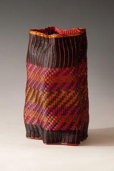 "loom woven,copper wire warp & weft,9.5x6"""
