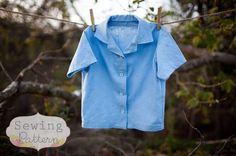 boys' shirt pattern
