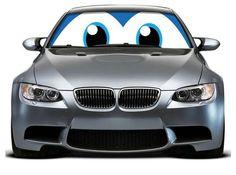 Car Eyes Sun Shade #Cars #SunShade
