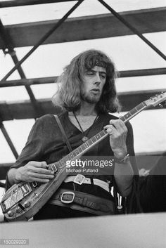 English blues singer-songwriter John Mayall performing at the Woburn Music Festival, Woburn Abbey, Bedfordshire, 6th July 1968.