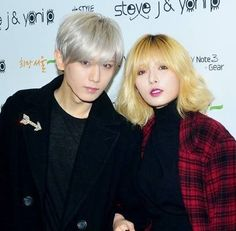 Trouble Maker make an eye-catching black-and-plaid appearance at '2014 Spring/Summer Seoul Fashion Week' | http://www.allkpop.com/article/2013/10/trouble-maker-make-an-eye-catching-black-and-plaid-appearance-at-2014-spring-summer-seoul-fashion-week
