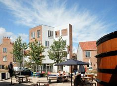 Tibby's Triangle Housing in Southwold by ash Sakula Architects
