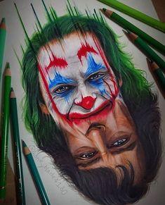 Joker Et Harley Quinn, Gotham Joker, Joker Art, Joker Batman, Joker Drawings, Realistic Drawings, Colorful Drawings, Joker Images, Joker Pics