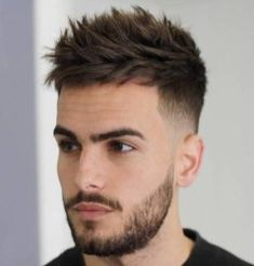 21 Best Short Spiky Hair Cuts for Men - # Cool Hairstyles For Men, Hairstyles Haircuts, Haircuts For Men, Popular Haircuts, Latest Hairstyles, Mens Haircuts Thick Hair, Mens Summer Hairstyles, Mens Hairstyles Fade, Barber Haircuts