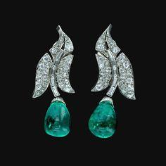 Sultanesque - 20th-century-babylon: Art deco emerald drop...