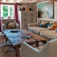 Living room | Suffolk country house | House tour | PHOTO GALLERY | Country Homes and Interiors | Housetohome.co.uk