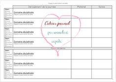 Créer son cahier journal en utilisant le développeur de Word