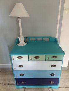 Lignocolor, Vintage Blue, Sky Blue, Old Green, Vintage Green, Madrid Green,