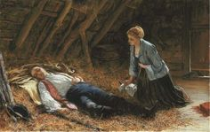 """Charles Sillem Lidderdale, """"In Hiding After Culloden"""""""