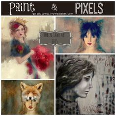 Robin Laws Art from Paint & Pixels with Ivy Newport
