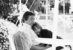 Serge Gainsbourg & Jane Birkin in May 1968, shortly after they met and fell in love.