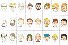 Guess Who- adjetivos esp 1 Teacher Games, Class Games, Classroom Games, Classroom Language, Spanish Games, Spanish 1, Spanish Activities, Spanish Lessons, Learn Spanish