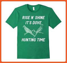 8f5aef49a5896 Mens Dove Hunting Bird Hunting T-Shirt 3XL Kelly Green - Animal shirts (*