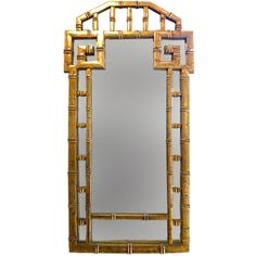 Mid-Century Chinese Chippendale Style Mirror