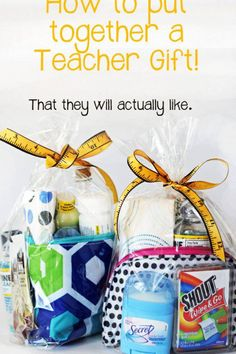 First day of school gift for the teacher all things they will need throughout the year!