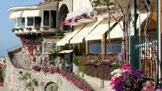 Entrance to the Covo dei Saraceni in Positano, Italy