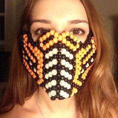 Accessories - Orange sub zero kandi mask