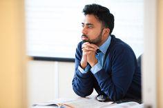 Nadeem is devising a lesson plan (daydreaming) #WEBridge #Teacher #English #School