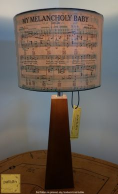 Part of the Patturn music notes series. featuring pages from vintage songbooks circa 1940's