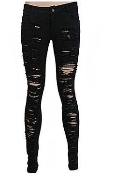 Hose Trousers Pants Rockabilly Punk Rave