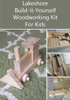Lakeshore's Build-it-yourself Woodworking Kit For Kids Review