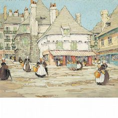 View Market Day in Quimperle, Brittany, France by Eleanor Parke Custis on artnet. Browse upcoming and past auction lots by Eleanor Parke Custis. Eleanor And Park, Gouache, Brittany France, View Image, Blue Flowers, Parka, Duc, Fine Art, Marketing