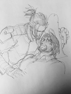 I might be too far out at sea with this ship Overwatch Hanzo, Game Character, Character Design, Cute Gay Couples, Couples In Love, Hanzo Shimada, Good Omens Book, Disney Cats, Gay Art