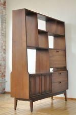 1960's Mid Century, Room Divider, Bookcase/Entertainment/Bar. Attributed to J.B. VanSciver, the Camden/Philadelphia furniture maker/retailer. Quite pretty.