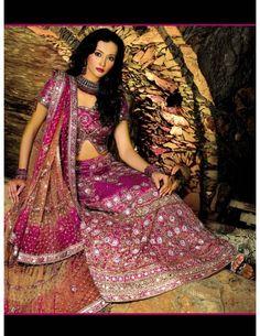 Bollywood Style Reception Lehenga Item code : GSL510