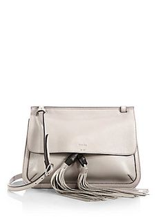Gucci Bamboo Daily Leather Flap Shoulder Bag