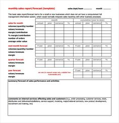 Financial Report Templates  Free Sample Example Format