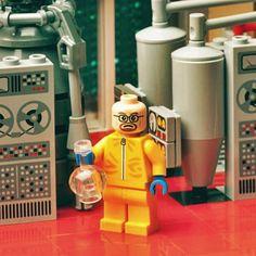 Des Lego Breaking Bad, Walter White en briques