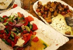 Xoriatiki Salata (Country-Style Greek Salad) Recipe | SAVEUR