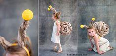 Snail costume for kids, carnival and Halloween - Disfraz de caracol para niños, disfraces animales carnaval