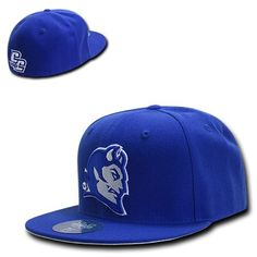 Central #connecticut #state blue devils ncaa #fitted flat bill baseball cap hat,  View more on the LINK: 	http://www.zeppy.io/product/gb/2/272380371991/