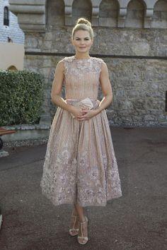 Jennifer Morrison Is a Pretty-Pretty Princess in Georges Hobeika - Fashionista