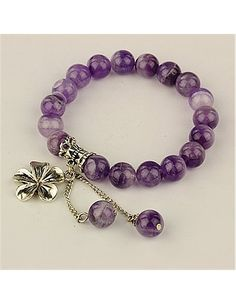 amethyst bracelet! I want it !!