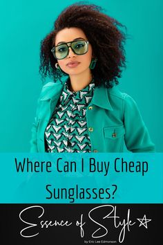 Where can you buy cheap sunglasses? I'm sharing some places I often go to pick me out some fly Stunner shades! Check it out! #cheapsunglasses #cheapsunglasseswomen #cheapsunglasseswebsite #wheretobuysunglasses Where To Buy Sunglasses, Cheap Sunglasses, Business Casual Men, Men Casual, Mens Clothing Styles, Buy Cheap, Women's Fashion Dresses, Looking For Women, Daily Fashion