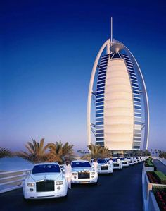 Rolls-Royce Transportation at Burj Al Arab.