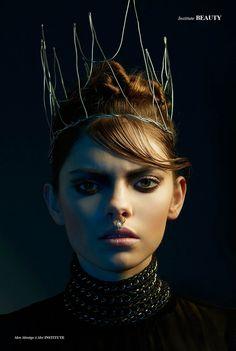 Mon Manège à Moi - Photographed by Christoph Kassette Hair & Makeup Christina Moissl  Styling Neves Schander  Model Tamina / modelwerk Styling All self made