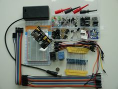 250+Advanced Electronic component Sensor kit battery holder Raspberry pi gift