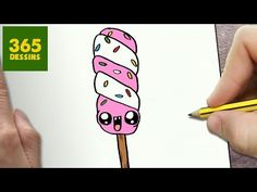 COMMENT DESSINER VERNIS À ONGLES KAWAII ÉTAPE PAR ÉTAPE – Dessins kawaii facile - YouTube