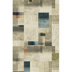 rewoven rug beige - løst tæppe fra Egetæpper