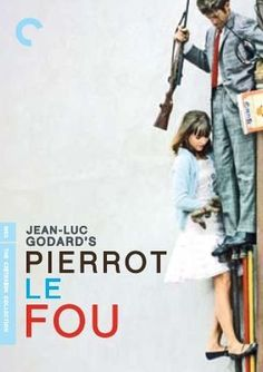 Pierrot le Fou (1965)~Why do you look so sad? Because you speak to me in words and I look at you with feelings.